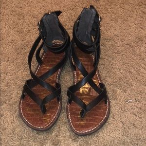 Sam Edelman criss cross sandals